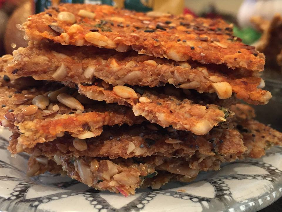 Cholula Seed Crackers